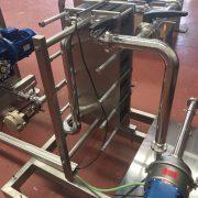 intercambiador de placas -recuperador frigorias anexo a cuerpo rascado
